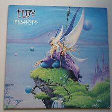 Eloy-Planet Vinyle LP uk + inner 1st Press Textured Pochette Presque comme neuf/Presque comme neuf KRAUTROCK