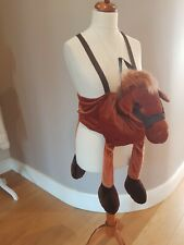 Wicked kids ride on horse costume cowboy dress up fancy dress age 5 - 6 yrs