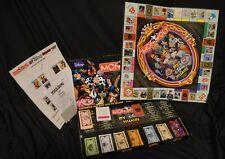 Rare Monopoly Disney Villains Collector's Edition Theme Park Board Game