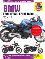2006-2016 BMW F800 F700 F650 Haynes Repair Service Workshop Shop Manual 9218