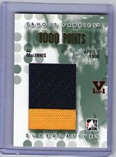 Brian Leetch Superlative Vault TRUE 1/1 GOLD Famous Fabrics 1000 Points. RUBY