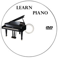 LEARN HOW TO PLAY PIANO KEYBOARD VIDEO GUIDE TUTORIALS LESSON DVD FOR BEGINNERS