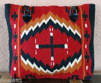 Wool Purse HIPURSE-NB Maya Modern Hand Woven Large Southwestern Laptop Bag Tote
