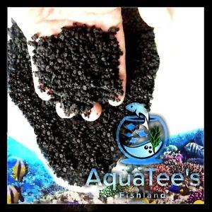 AquaTees 20 KG VOLCANIC MALANG SAND Black Aquascape Freshwater sand-bed Aquarium