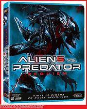 ALIENS Vs PREDATOR REQUIEM Alien Predators Bluray + fourreau gauffré- BLU-RAY -