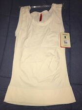NEW SPANX ON TOP & IN CONTROL VANILLA CLASSIC 983 TANK KNIT TOP SIZE LRG TIGHT