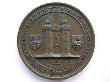 1887 Queen Victoria Golden Jubilee Lancaster medal 36mm Bronze