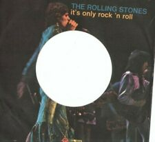 THE ROLLING STONES - IT'S ONLY ROCK'N - SOLO COPERTINA - 7'' PICTURE SLEEVES