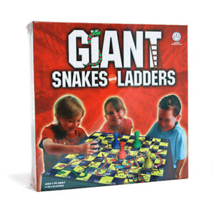 Giant Snakes & Ladders Board Game NEW