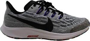 Nike Kids' Air Zoom Pegasus 36 Running Shoes, White/Black/Grape, 6.5 M US