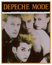 Depeche Mode * POSTER * AMAZING Early Image - MUST SEE