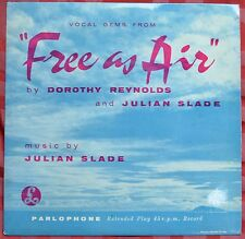 "Julian Slade Vocal Gems From ""Free As Air"" 7"" EP – GEP 8622 – Ex"