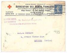AZ191 1925 * france * paris victor hugo cover {samwells couvre -} pts
