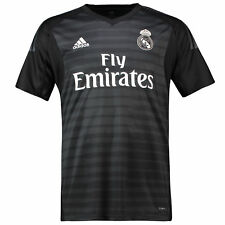 0f7fdcc6b4c Real Madrid Home Goalkeeper Shirt S 2018-19 Courtois 25 Print Badges Rm24