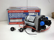 Shurflo RV Camper Automatic Demand Fresh Water Pump 12V 3 Gallon 4008-101-E65