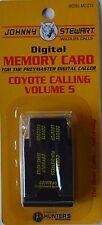 JOHNNY STEWART COYOTE CALLING VOLUME 5 PREYMASTER MEMORY CARD PREDATOR MC-CY5