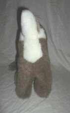 """2002 Zoona Howl at the Moon Coyote 11"""" Dog Plush Soft Toy Stuffed Animal"""