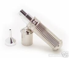 SILVER ATOMIZER W/ SWAROVSKI CRYSTALS BY DEBBIE J. PALMER HIGH QUALITY BRAND NEW