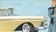1957 Ford Fairline & Fairline 500 Brochure 10761-ZDVVYK