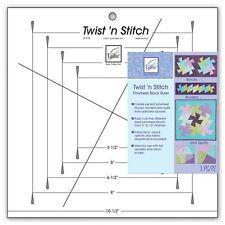 Twist 'n Stitch Pinwheel Block Ruler by June Tailor, JT-775