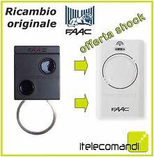 RADIOCOMANDO TELECOMANDO ORIGINALE FAAC XT2 868 SLH SOSTITUISCE T2 868 SLH