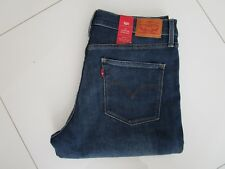 Levi's 314 Ladies Blue Mid Rise Shaping Straight Stretch Jeans  Size 32
