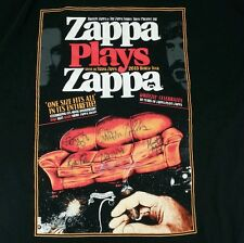 Zappa Plays Zappa Signed Autographed 2XL XXL Band T-Shirt 2015 Tour Concert Tee