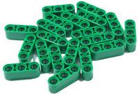 LEGO Technik - 20 x Liftarm 1x3 dick grün / Liftarm Thick / 32523 NEUWARE