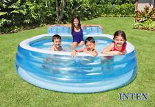 Intex 57190 Piscina con Panca gonfiabile incorporata per Maggiore Relax.