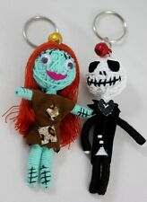 Couple Jack Skellington Sally The Nightmare Before Christmas Voodoo Keychain New