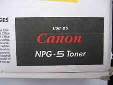 Reconditionnement Toner for npg-5 Canon Toner CPF NP 3050 3030 Black 680gr