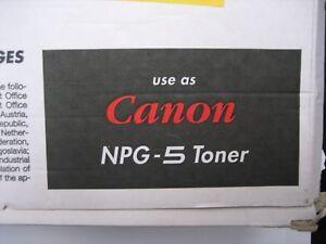 Toner para Copiadora NPG-5 Canon Toner Cpf Np 3050 3030