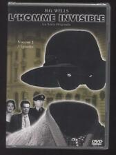 NEUF DVD L'HOMME INVISIBLE 1958 vol.2 3 EPISODES SERIE TV H.G. WELLS SOUSBLISTER
