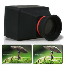 Cámara SLR 3X Magnifier Visor Parasol para 3/3.2 pulgadas Pantalla LCD D Digital S