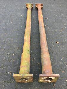 Säulenpaar Gusseisen 278cm