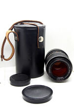 M42 Telephoto Lens CARL ZEISS JENA SONNAR Red MC 135mm F/3.5