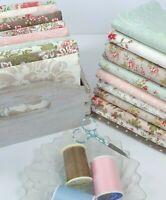 Rue 1800 3 Sisters Shabby Chic Quilting Fabrics Moda ~ 20 Fat Quarters Bundle
