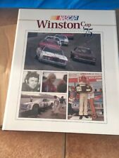 1975 NASCAR  Winston Cup Yearbook with original box  UMI Publications