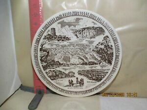 VERNON KILNS GRAND CANYON NATIONAL PARK PLATE - MADE FOR FRED HARVEY , NO DAMAGE