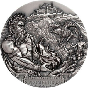 2020 $20 Titans - Prometheus 3oz Silver Ultra High Relief Coin