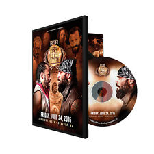 Official ROH Ring of Honor -  Best In The World 2016 24/6/16 Event DVD