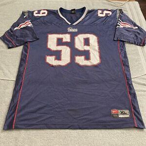 vtg New England Patriots Andy Katzenmoyer Jersey NFL Football Nike Super Bowl XL