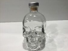 Crystal Head Vodka Skull Bottle Empty 750 ml size