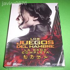 LOS JUEGOS DEL HAMBRE LA SAGA COMPLETA EN DVD PACK NUEVO Y PRECINTADO