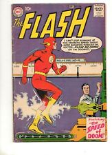 Flash #108 RARE! End Grodd Trilogy; 1959 10c Cover VG/F 5.0 1ST APP MOHRU!