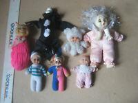Bambole 7 miste vintage