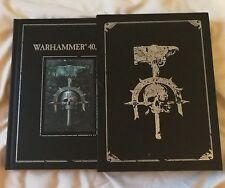 warhammer slip-case limited 4th edition 4E Gw games workshop book 40k 40000