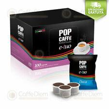 Pop Caffè 100 Capsule Cialde Compatibili FiorFiore Fiore Coop DECAFFEINATO E-Tuo