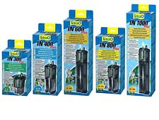 Tetratec Tetra In300 In400 In600 In800 In1000 Filter Aquarium Fish Tank Pump