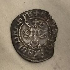 King Edward silver hammered penny coin metal detecting find